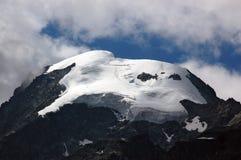 Ghiacciaio delle alpi di Bernina - Engadine Svizzera Immagini Stock
