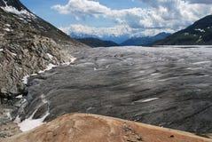 Ghiacciaio di Aletsch Immagini Stock