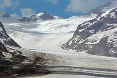 Ghiacciaio di Aletsch Fotografia Stock