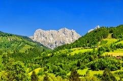 Ghiacciaio di Dachstein immagini stock