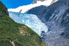 Ghiacciaio di Franz Josef, Nuova Zelanda fotografie stock libere da diritti