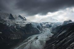 Ghiacciaio di Grossglockner, alpi Immagini Stock