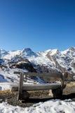 Ghiacciaio di Grossglockner in alpi Immagine Stock Libera da Diritti