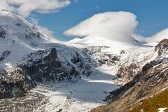 Ghiacciaio di Kaiser Franz Josef Grossglockner, alpi austriache Immagine Stock