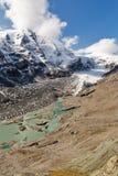 Ghiacciaio di Kaiser Franz Josef Grossglockner, alpi austriache Fotografia Stock