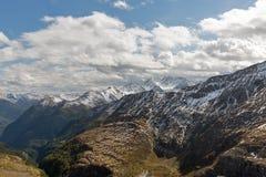 Ghiacciaio di Kaiser Franz Joseph Grossglockner, alpi austriache Fotografia Stock
