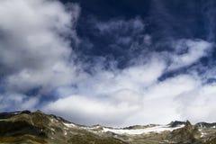 Ghiacciaio di Neves, Italia del Nord Fotografia Stock Libera da Diritti