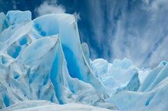 Ghiacciaio di Perito Moreno, Patagonia, Argentina. Immagine Stock
