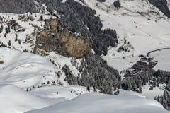 Ghiacciaio di Tuxer Ferner in Austria, 2015 Fotografia Stock
