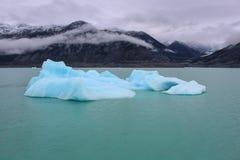 Ghiacciaio di Upsala ad Argentino Lake, parco nazionale di Los Glaciares, Patagonia fotografie stock libere da diritti