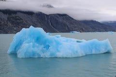 Ghiacciaio di Upsala ad Argentino Lake, parco nazionale di Los Glaciares, Patagonia fotografia stock libera da diritti