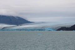Ghiacciaio di Upsala ad Argentino Lake, parco nazionale di Los Glaciares, Patagonia immagine stock