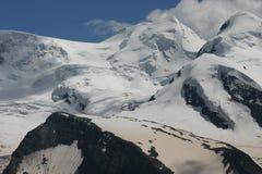 Ghiacciaio e paesaggio della neve Fotografia Stock Libera da Diritti