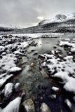 Ghiacciaio eroso di Athabasca dell'ambiente Fotografia Stock Libera da Diritti