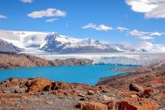 ghiacciaio famoso di upsala immagini stock