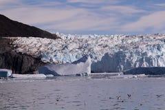 Ghiacciaio Groenlandia del ghiaccio immagine stock libera da diritti