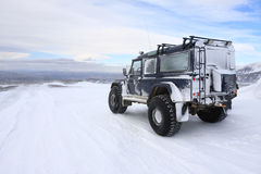 Ghiacciaio Islanda di Langjokull Immagini Stock Libere da Diritti