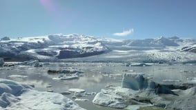 Ghiacciaio in Islanda archivi video