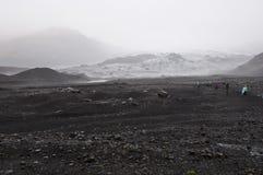 Ghiacciaio islandese Fotografie Stock
