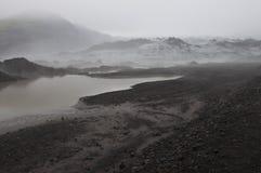 Ghiacciaio islandese Fotografie Stock Libere da Diritti