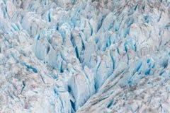 Ghiacciaio, Juneau, Alaska fotografie stock