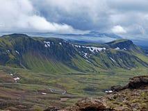 Ghiacciaio Myrdalsjokull, Islanda Fotografia Stock Libera da Diritti