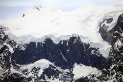 Ghiacciaio nel parco nazionale di Torres del Paine, regione del Magallanes, Cile del sud Immagini Stock Libere da Diritti