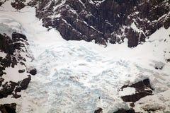 Ghiacciaio nel parco nazionale di Torres del Paine, regione del Magallanes, Cile del sud Immagine Stock Libera da Diritti