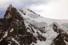 Ghiacciaio nel parco nazionale di Torres del Paine, regione del Magallanes, Cile del sud Fotografie Stock Libere da Diritti