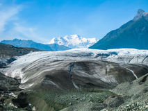 Ghiacciaio nell'Alaska Fotografia Stock