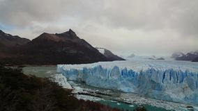 Ghiacciaio Perito Moreno National Park in autunno L'Argentina, Patagonia video d archivio
