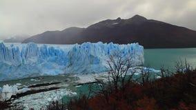 Ghiacciaio Perito Moreno National Park in autunno L'Argentina, Patagonia archivi video