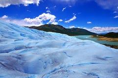 Ghiacciaio Perito Moreno, Patagonia (Argentina) immagini stock