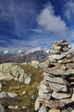 Ghiacciaio svizzero Jungfrau - Aletsch, Svizzera Immagini Stock Libere da Diritti