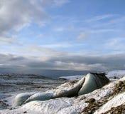 Ghiacciaio vicino a Vik, Islanda Immagine Stock Libera da Diritti