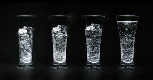 Ghiaccio-acqua Fotografie Stock Libere da Diritti
