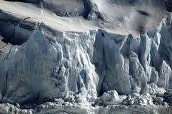 Ghiaccio antartico croccante Fotografia Stock