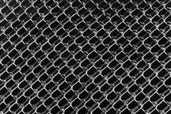 Ghiaccio in bianco e nero Diamond Patterns Fotografia Stock Libera da Diritti