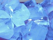 Ghiaccio blu Fotografia Stock