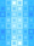 Ghiaccio blu astratto Fotografia Stock Libera da Diritti