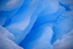 Ghiaccio blu freddo Fotografia Stock Libera da Diritti