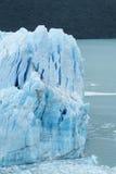 Ghiaccio blu glaciar Fotografia Stock Libera da Diritti