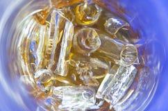 Ghiaccio del cilindro della bevanda Fotografia Stock