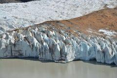 Ghiaccio del ghiacciaio Fotografia Stock Libera da Diritti