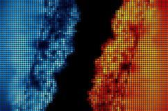 Ghiaccio e fuoco illustrazione vettoriale