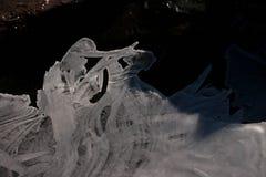 Ghiaccio e mondo della neve fotografia stock libera da diritti