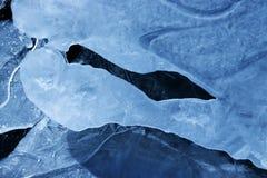 Ghiaccio e mondo della neve immagini stock