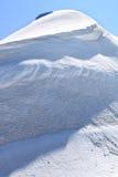 Ghiaccio e neve del Jungfraujoch in Svizzera Fotografia Stock Libera da Diritti
