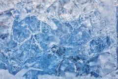 Ghiaccio freddo Fotografia Stock