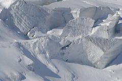 Ghiaccio glaciale Fotografie Stock